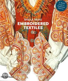 bol.com | Embroidered Textiles, Sheila Paine | Boeken