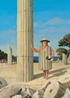 A tourist on holiday by  Gerhard Glück