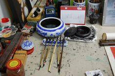 Chinese brushes/pinceles chinos | Flickr: Intercambio de fotos