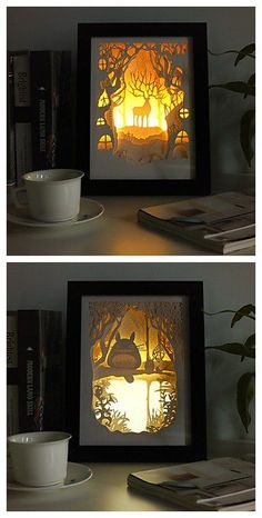 3 D Sketch Paper Carving Lamp , find more creative prints here. Maybe something for 3D Printer Chat?