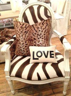 Zebra stripe #love. #decor