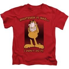 Garfield/I Didn'T Do It-Red