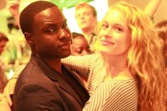 Thresh and Glimmer...oh, and Marvel doing a photo bomb.
