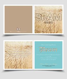 Cool boy birth announcement bear fur / Stoer Geboortekaartje Jongen beren vacht | Jutenjul design