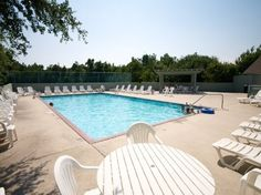 Another one of the communal pools offered to guests at Currituck Club