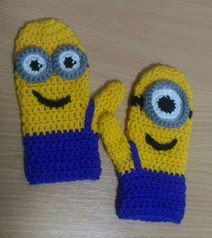 Minion kids gloves / Mimoňské dětské rukavičky
