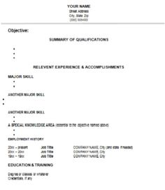 Pin By Ayesha Azhar On Files    Job Resume And Template