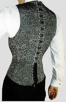 Men use for corsets is to create a much more slender and thin figure. In general there exists 2 kinds of corsets: under burst and over bust....