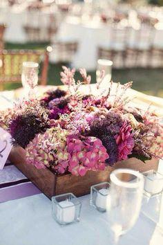 Vintage wedding centerpieces purple wooden boxes 51 Ideas for 2019 Barn Wedding Centerpieces, Wedding Table Flowers, Wedding Decorations, Wedding Ideas, Centrepieces, Wedding Photos, Wedding Inspiration, Table Decorations, Purple Wedding