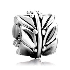 Pugster Jewelry Leaf Beads Fit Pandora Chamilia Biagi Charm & Bracelet Pugster. $9.99. Money-back Satisfaction Guarantee. Unthreaded European story bracelet design. Free Jewerly Box. Fit Pandora, Biagi, and Chamilia Charm Bead Bracelets. Pugster are adding new designs all the time. Save 20% Off!