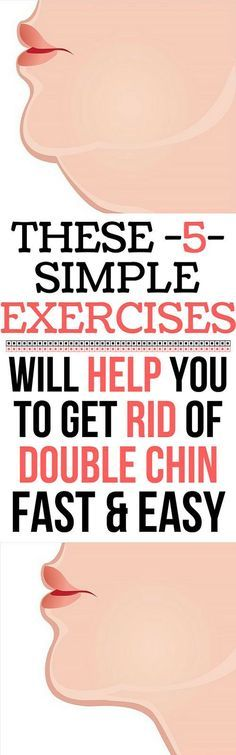 These 5 Simple Exercises Will Help You Get Rid of Your Double Chin – FAST AND EASY!