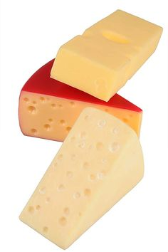 Artificial Cheese Selection Pk3 - Cheese #FakeFood
