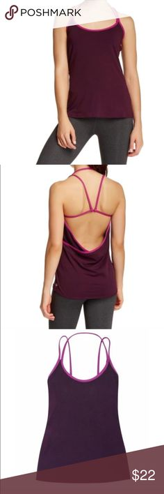 Fabletics Sz XS Miri Style Stretch Workout Tank Fabletics Sz XS Miri Style Stretch Workout Tank NWT Open back with straps. Sz XS Small Fitted with stretch Length: Hip Built-In Bra: No Fabric Content: 89% Polyester/11% Spandex Features: Moisture Wicking, Four-Way Stretch, Buttery Soft Fabric. Fabletics Tops