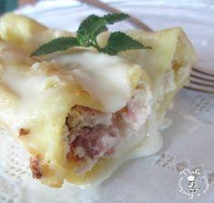 Cannelloni with ricotta and sausage - Cannelloni con ricotta e salsiccia