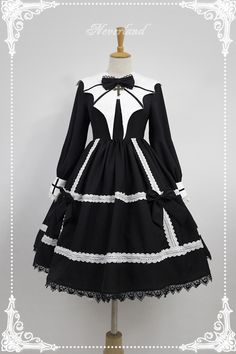 [New Release] Neverland Lolita -Devil's Wings- #GothicLolita OP Dress [30% OFF Special Price: 70.99USD]