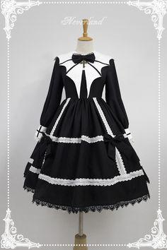Neverland Lolita -Devil's Wings- GothicLolita OP Dress