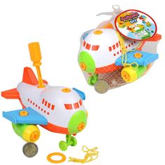 PUZZLE TOY DIY PLANE PLAY SET TOY GAME FOR KIDS CHILDREN GREAT GIFT PRESENT IDEA #Unbranded Toy Diy, Diy Toys, Puzzle Toys, Games For Kids, Yoshi, Plane, Great Gifts, Presents, Children