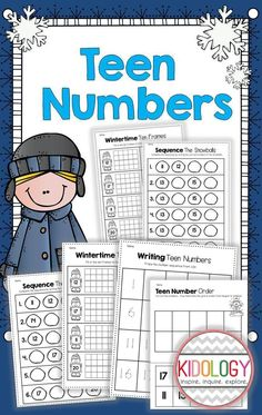This pack of print and go worksheets focuses on numbers 11-20.  Great practice! Perfect for morning work, literacy centers, independent seat work or as take home activities! $
