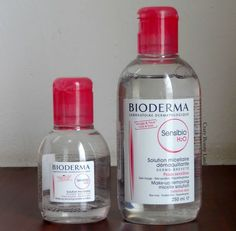 Bioderma Sensibio H2O Makeup Removing Micelle Solution Ingredients and Review. Micellar Water review | Crazy Beauty Land