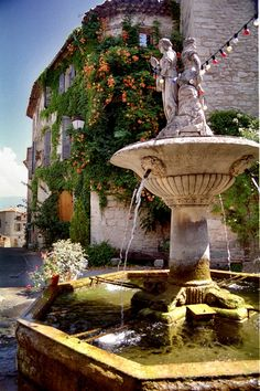 Fountain in Provence.