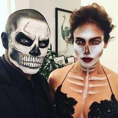 Jennifer Lopez and Casper Smart Are Scary Sexy on Halloween