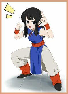 Chi♡^^ Chi Chi, Dbz, Goku And Chichi, Otaku, Female Drawing, Lilo And Stitch, Drawing Reference, Dragon Ball Z, Art Sketches