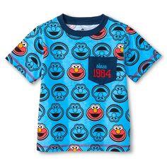 Sesame Street Elmo Toddler Boys' T-Shirt - Blue