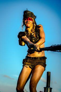 Batgirl #2 @ Wacken 2013 by Wasteland-Warriors.deviantart.com on @deviantART