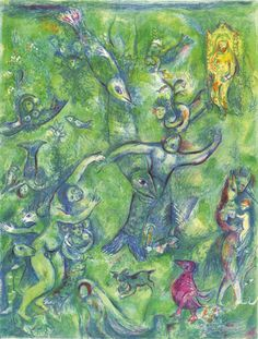 Abdullah discovered before him... - Marc Chagall
