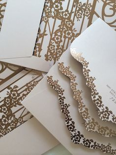 Ceci New York, glamorous wedding stationery. For more ideas, visit http://www.styleandthebride.co.uk/