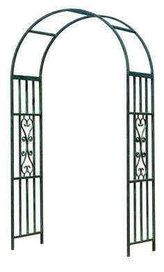 Gardman Kensington Gothic Garden Arch, Wide x High for sale online Metal Arbor, Wooden Arbor, Garden In The Woods, Lawn And Garden, Arco Floral, Grape Arbor, Garden Arches, Arbors Trellis, Wedding Altars