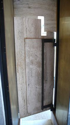 Venice, Italy, founded in Carlo Scarpa… Italy Architecture, Architecture Details, Interior Architecture, Carlo Scarpa, Entrance Design, Frank Lloyd Wright, Shop Interior Design, Entry Doors, Windows And Doors