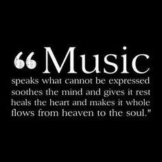 love this quote about music. This is what John Mayer's music does.
