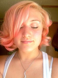 coloring hair with food coloring