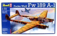 Focke Wulf Fw 189 A-1 Military Aircraft Revell #04294 1/72 New – Shore Line Hobby