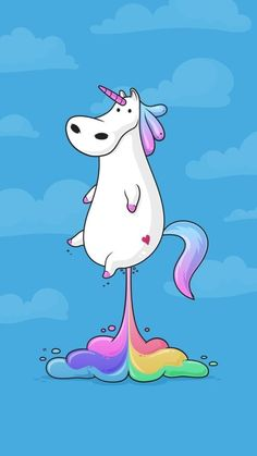 Kawaii, unicorn, and wallpaper image. Cartoon Wallpaper, Unicorn Wallpaper Cute, Unicornios Wallpaper, Disney Wallpaper, Kawaii Wallpaper, Wallpaper Quotes, Cartoon Cartoon, Unicorn Art, Cute Unicorn