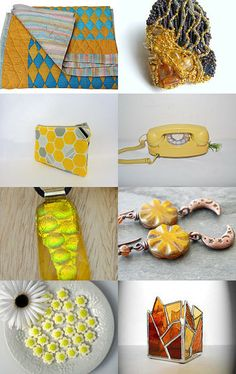 Mellow Yellow Summer by Karyn on Etsy--Pinned with TreasuryPin.com
