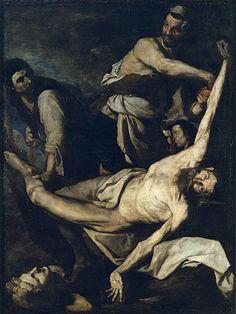 JOSEP DE RIBERA OR JUSEPE DE RIBERA, KNOWN AS 'LO SPAGNOLETTO' / Martyrdom of Saint Bartholomew (1644)