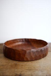 Hand carved wooden bowl @ Atelier Solarshop - Antwerp www.ateliersolarshop.be