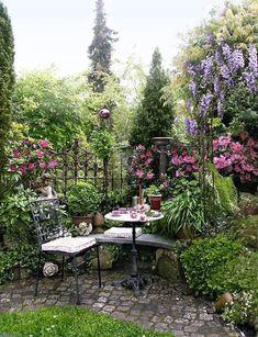 Garden space...