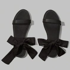 Wrap Bow Sandals
