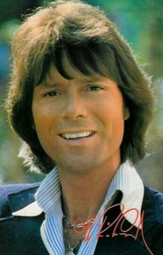 """Cliff Richard - """"We Don't Talk Anymore"""" Sir Cliff Richard, Richard Richard, Uk Music, Music Icon, Elvis Presley, The Beatles, Eurovision Song Contest, Love K, Billy Graham"""