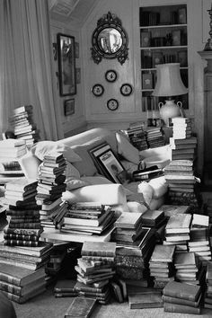 How to decorate with Books.........