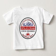 Dutch Harbor Opilio Crab Crew Member Tee T Shirt, Hoodie Sweatshirt
