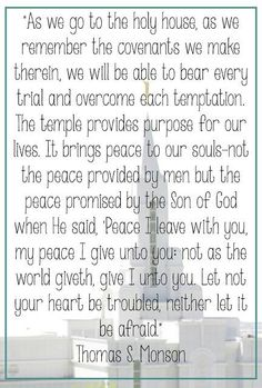 """""""Let not your heart be troubled, neither let it be afraid"""" #LDS"""