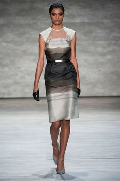 Bibhu Mohapatra Fall 2014...Gorgeous, love the details & fabric. Imagine this in your wedding colors. Change the skirt shape to fit your style. Ask your dressmaker for suggestions.
