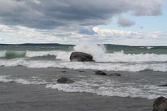 This is one of the beaches in Awenda Provincial Park in Penetanguishene, Ontario. It is one of favourite places. When my son was young we camped there every summer.
