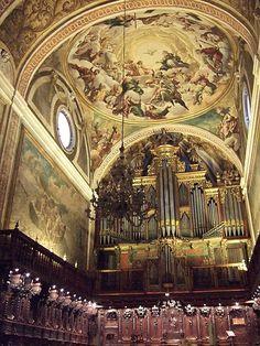 Jaca - Catedral - Interior - Coro