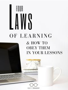 """With so many teaching ideas spinning around you, it can be hard to find a clear path. What you need is a set of principles you can use again and again. This set of four """"laws"""" for instruction produces the most powerful learning for students. Ease your lesson planning NOW! #CultofPedagogy"""
