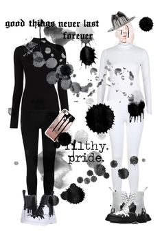 """""""Filthy Pride: Inspired by Social Repose"""" by milkyspill ❤ liked on Polyvore featuring River Island, Misha Nonoo, Dr. Martens, Miss Selfridge, Casetify and Super Duper"""